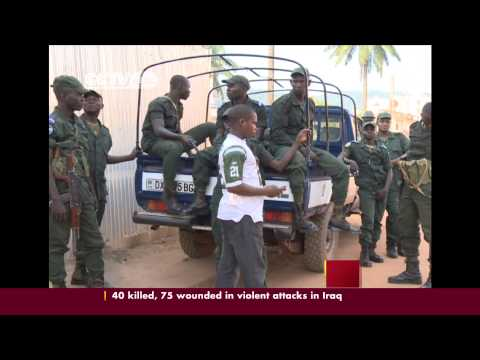 CAR: AU urges supply of troops for military intervention