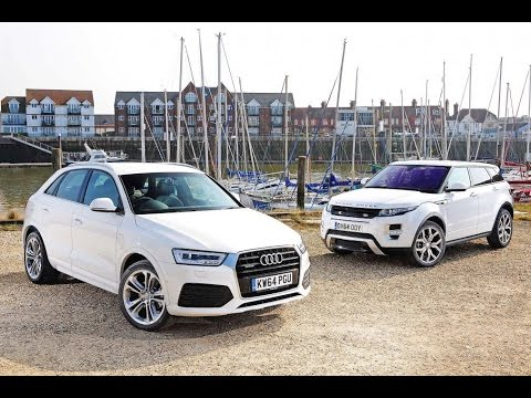 2017 Audi Q7 Vs Range Rover Evoque REVIEW & COMPARISON