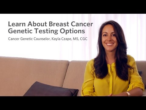 Learn About Breast Cancer Genetic Testing Options