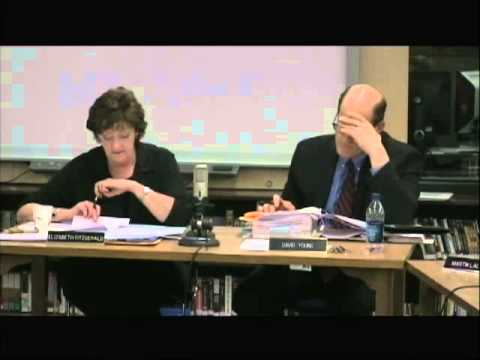 South Burlington School Board Meeting: April 17, 2013