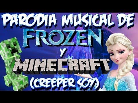 Parodia musical de Frozen y Minecraft Creeper Soy Libre soy de Martina Stoessel Violetta