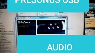 Presonus USB Audiobox Interface Set-Up & Use Part 1