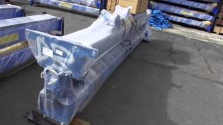 North American Auto Equipment TP11KAC-D 2 Post 11,000lb Capacity Auto Lift Packaged for Shipping