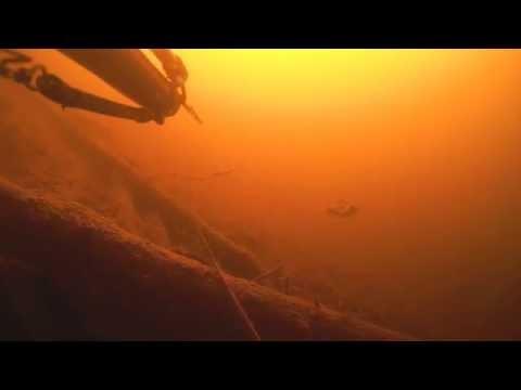 озеро Высокинское, Ленинградская область-взгляд из под воды