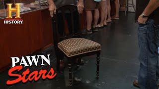 Pawn Stars: Abraham Lincoln Chair   History