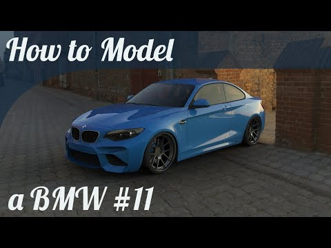 3D Car Modeling Tutorial pt.11 | Modeling a BMW