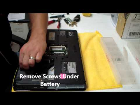 Toshiba L505/L500 AC DC Power Jack Repair