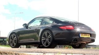 Testdrive: Porsche 997 Carrera Black Edition w/ engine sounds