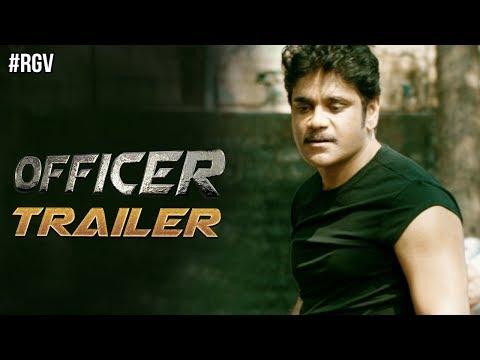 RGV's Officer Movie Trailer | Nagarjuna | RGV | Myra Sareen | Ram Gopal Varma | #OfficerTrailer