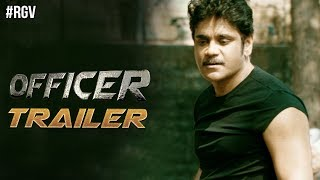 RGV's Officer Movie Trailer | Nagarjuna | RGV | Myra Sareen | Ram Gopal Varma | #OfficerTrailer