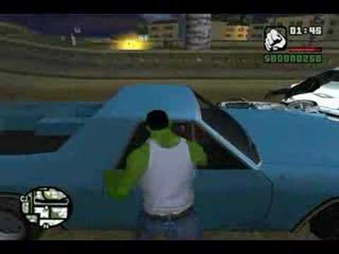 The Hulk in GTA San Andreas