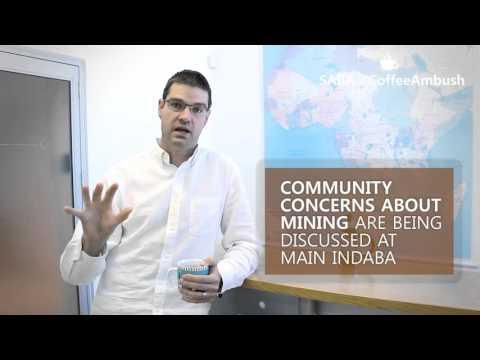 SAIIA #CoffeeAmbush 5: The Annual Mining Indaba