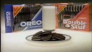 1983 Nabisco Oreo cookie commercial.