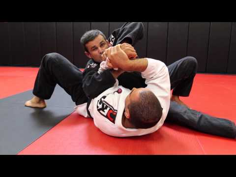 Jiu Jitsu Techniques - Submissions From Side Control (Wrist Lock + Lapel Choke) Image 1
