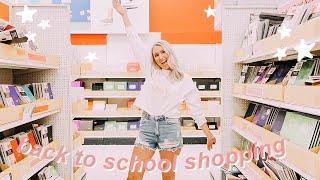 BACK TO SCHOOL SUPPLIES SHOPPING 2019! college edition