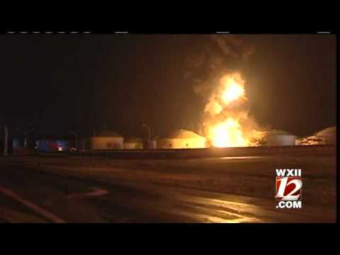 Tank Farm Fire Contained