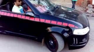 Modified maruti 800 shocked every one