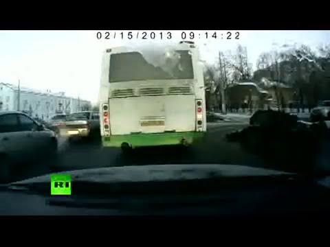 Una lluvia de meteoritos causa el pánico en los Urales