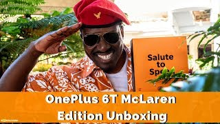 OnePlus 6T McLaren Edition Unboxing W/Colonel Singala