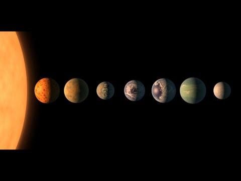 La NASA anuncia el descubrimiento de 7 exoplanetas como la Tierra en una estrella cercana
