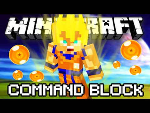 Minecraft 1.8 - Dragon Ball Z Command Block!   Español Review Tutorial