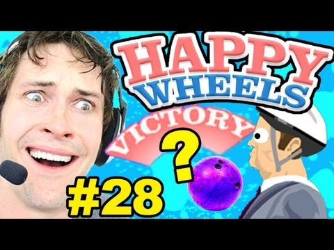 Happy Wheels - HOW DID I WIN? - Part 28