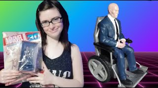 Unboxing Professor Charles Xavier from Marvel Universe 3D Colection from Editorial Salvat