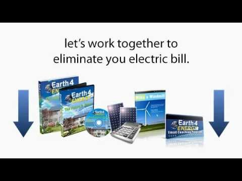 Renewable Energy, how to build solar panels and geothermal  energy