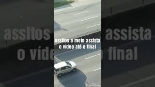 assalto de moto na Fernão Dias
