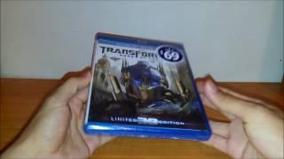 Unboxing: Transformers El lado oscuro de la luna Bluray