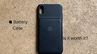 Apple Battery Case (iPhone XS Max Edition)