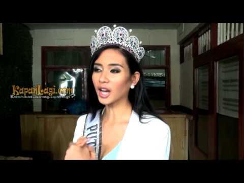 Elvira Devinamira Siap Tampil di Ajang Miss Universe