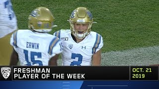 Bruins' Kyle Philips named Pac-12 Freshman of the Week