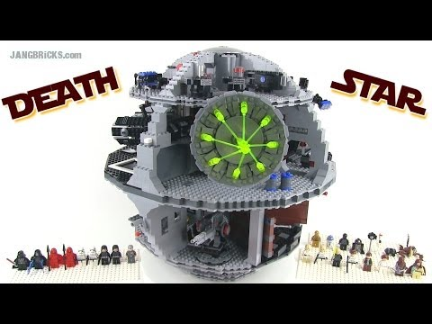 LEGO Star Wars 10188 DEATH STAR reviewed!  3800+ pieces, 11+ lbs.!