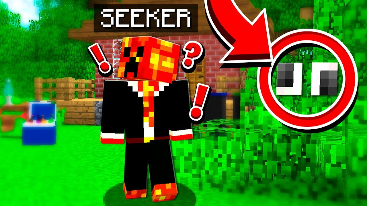 THEY NEVER FOUND ME!   MINECRAFT HIDE & SEEK!
