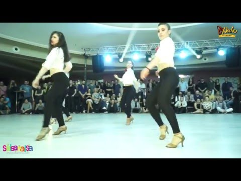 La Noche Ladies Show - Tdsf Adana 2.Etap Salsa Yarışması After Party - 2016