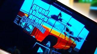 LG G3 GTA San Andreas @ Max Resolution
