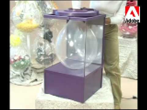 balloon gift machine