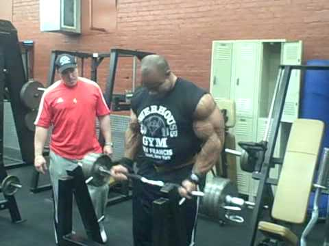 Victor Martinez 4 weeks out of Arnold 09 Video