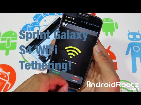 How to Enable Free Wifi Tether / Hotspot Galaxy s4