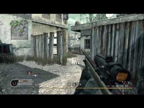 DOBLE LIVE - ¡Sniper M40 y MP5! - NostalgiCODs Ep. 30 - Call Of Duty 4 HD