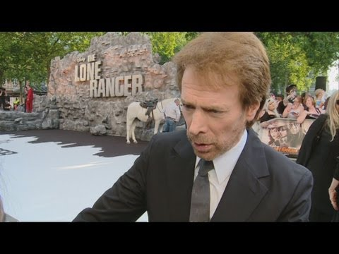 THE LONE RANGER: Jerry Bruckheimer: Lucky to have Johnny Depp