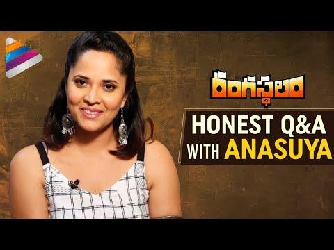 Anasuya Honest Q&A | Rangasthalam Telugu Movie | Ram Charan | Samantha | Pooja Hegde | Sukumar | DSP
