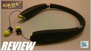 REVIEW: GRDE SX-990 Folding Bluetooth Headphones