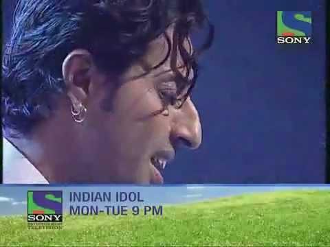 Indian Idol 5 Salim merchant singing ye hosla.flv kishan pareek makrana