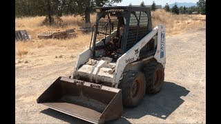 HOW TO DRIVE A BOBCAT!