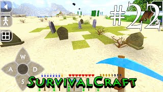 (GAMEPLAY) SURVIVALCRAFT ANDROID 1.29 / [ SOBREVIVÊNCIA DIA # 22 - EXPLORANDO A ILHA ! ]