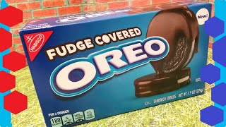 Fudge Covered Oreo New Food Review & Taste Test