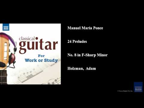 Manuel Maria Ponce - Prelude No 3 In F