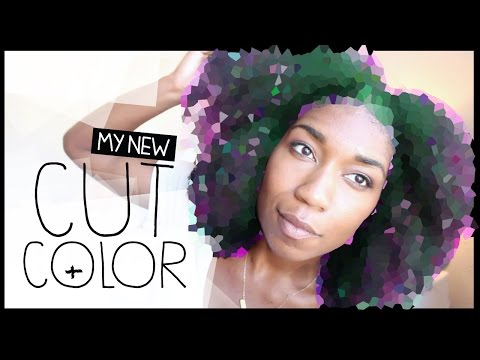 My New CUT + COLOR | Balayage on Natural Hair | What To Expect